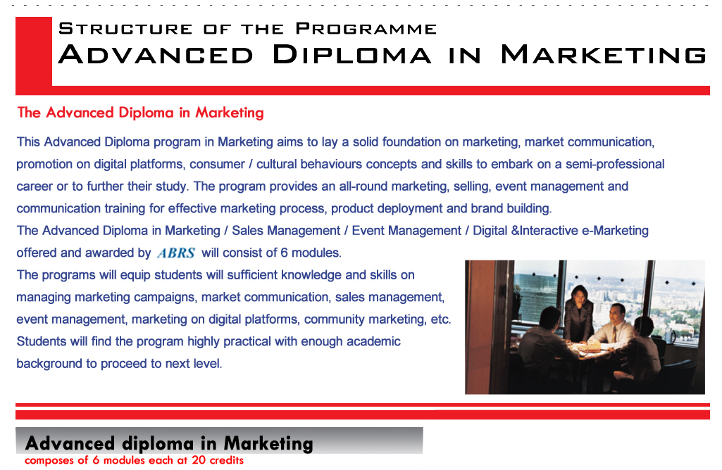 adv diploma in marketing adv diploma in marketing